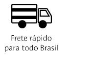 Frete rápido para todo o Brasil